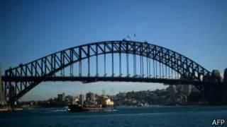 Sydney Harbour Bridge, AFP
