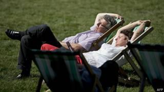 Paqrue em Londres - Foto: AFP