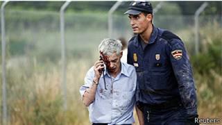 Maquinista de tren que descarriló en Galicia