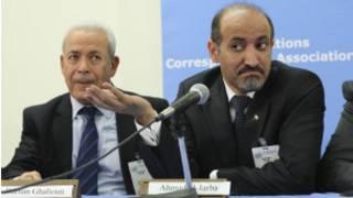 Ahmed al Jarba Shugaban kungiyoyin adawar Syria