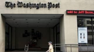 वॉशिंगटन पोस्ट का दफ़्तर