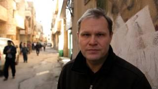 Paul Wood, corresponsal de la BBC en Medio Oriente