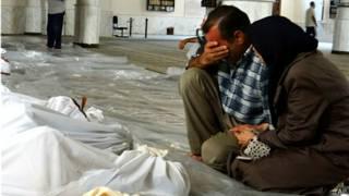 Nạn nhân vụ tấn công khí độc ở Syria