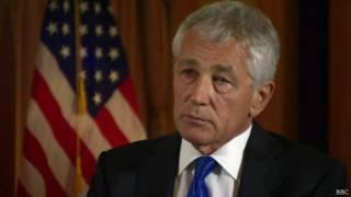 Chuck Hagel, secretário da Defesa dos EUA (BBC)
