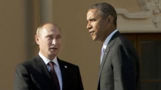 Shugaba Putin da Shugaba Obama