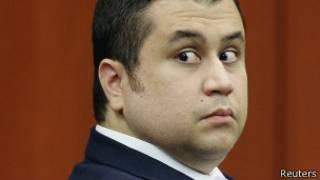 George Zimmerman, mira hacia atrás