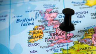 ब्रिटेन, नक्शा, द्वीप