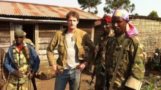कांगो के विद्रोहियों के बीच डैन स्नो