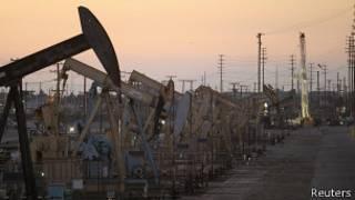 Producción de petróleo en California