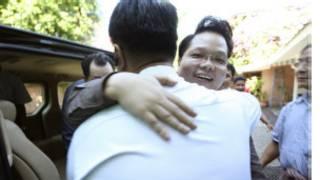 Two grandsons of dictator U Nay Win were releasedwin_ap