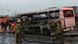Ledakan di Kabul