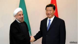 习近平和伊朗总统