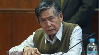 Ex presidente peruano Alberto Fujimori