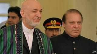 Hamid Karzai, Nawaz Sharif