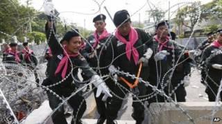 thailand, protest