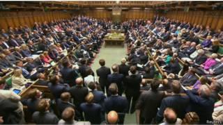 Sidang parlemen Inggris