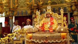 श्रीकांतदत्ता वॉडेयार, मैसूर, राजा