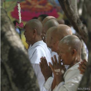 Templo budista de Udong, Camboya