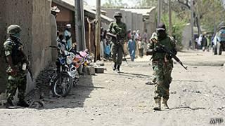 Soldados armados