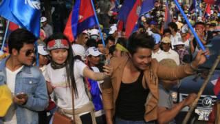 Protes di Kamboja