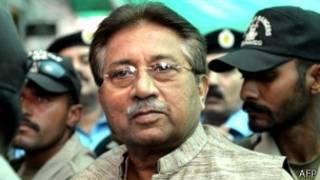 Eks Presiden Musharraf