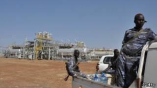 Campos de petróleo en Sudán del Sur