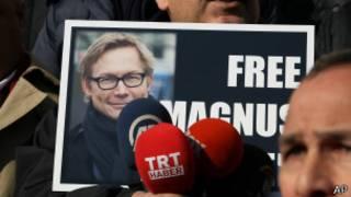 Campaña para liberar a Magnus Falkenhed