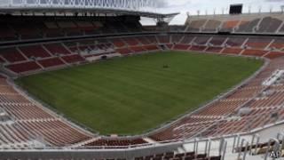 Le stade Peter Mokaba de Polokwane où se déroulent les matchs du Groupe D.