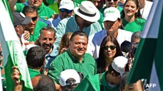 Johnny Araya, candidato a la presidencia de Costa Rica