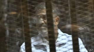 Mohammed Morsi yavanywe k'ubutegetsi umwaka ushize