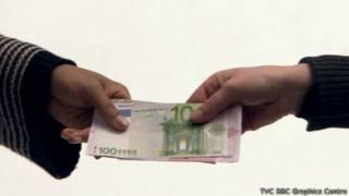 Банкноты евро