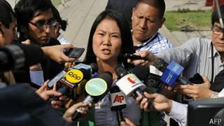 Keiko Fujimori, favorita en las encuestas