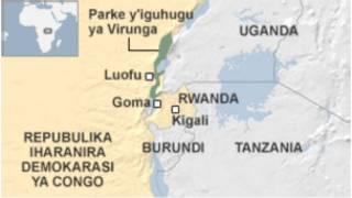 La frontière entre la RDC et le Rwanda n'est pas clairement définie, à certains endroits