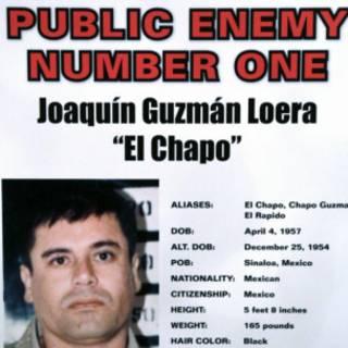 Póster de arresto de El Chapo Guzmán