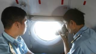 लापता मलेशियाई विमान, तलाश