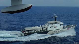 Barco de la Marina de Malasia