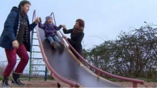 Família Borodin em Sevastopol (foto - BBC)