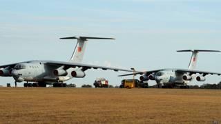 ऑस्ट्रेलिया के पर्थ पहुँचे चीनी वायुसेना के विमान