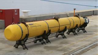 El detector de cajas negras cargado en el barco australiano que se une a la búsqueda el lunes