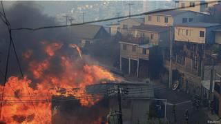 incendios en Valparaso, Chile