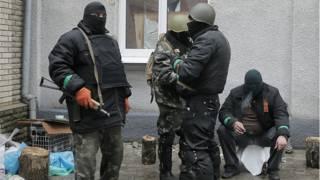 actvista pro ruso en este de Ucrania