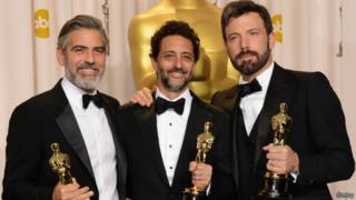George Clooney, Grant Heslov, Ben Affleck, Getty