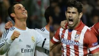 Cristiano Ronaldo y Diego Costa