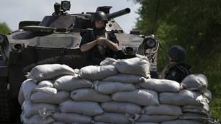 Tanque de Ucrania