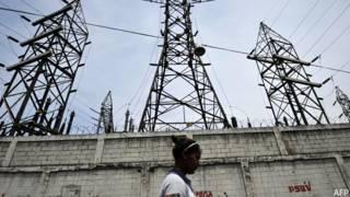 Planta de electricidad en Venezuela
