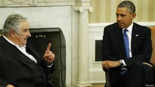 José Mujica y Barack Obama en mayo pasado