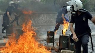 Bentrokan di Turki