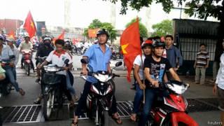 Protestas en Vietnam