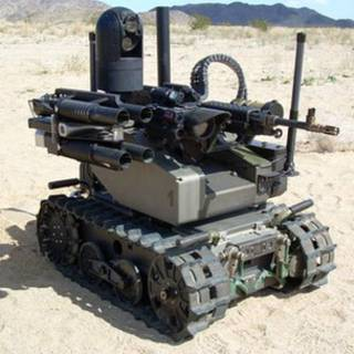 Robot tanque