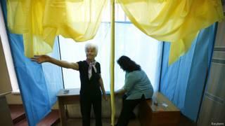 Preparativos de las elecciones en Ucrania